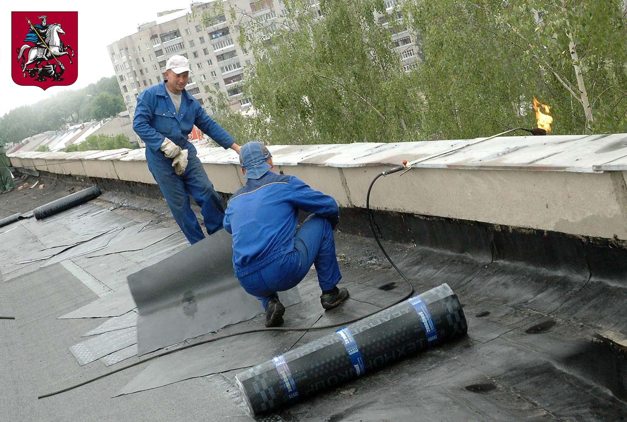 Чем покрыть крышу?